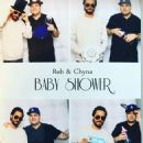 Blac Chyna and Rob Kardashian at Their Baby Shower in Woodland Hills, California - October 3, 2016 - 454 x 614