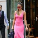 Actress and businesswoman Jessica Alba is spotted out and about in New York City, New York on August 25, 2016