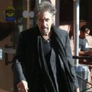 Al Pacino spotted out for lunch at Nate 'N Al's in Beverly Hills, California on December 13, 2014 - 447 x 594