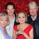 Wanda Ventham, Timothy Carlton, Tracie Bennett and Benedict Cumberbatch - 454 x 348
