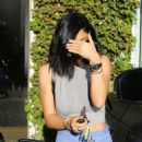 Kylie Jenner Seen Leaving Andy Lecompte Hair Salon In Beverly Hills