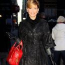 Elizabeth Banks Leaving the Late Show with David Letterman""