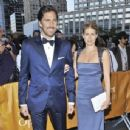 Henrik Lundqvist and Therese Andersson