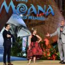 Dwayne Johnson- November 14, 2016- The World Premiere of Disney's 'Moana' - 454 x 316