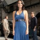Olivia Munn at The Ed Sullivan Theater for an appearance on Late Show with David Letterman in New York City (August 12)