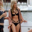 Annalynne McCord in Black Bikini in Los Angeles - 454 x 681