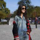 Blanca Padilla – Arrives at Elie Saab Fashion Show in Paris - 454 x 681
