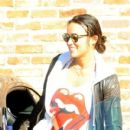 Michelle Rodriguez was seen leaving the gym after a workout in Los Angeles, California on January 27, 2017 - 410 x 600