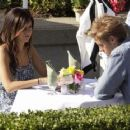 Ashley Tisdale And Matt Barr: Hellcats Dinner Duo