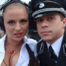 Anna Semenovich & Pavel Derevyanko | On the set - 454 x 303