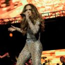 Jennifer Lopez Handles Tango Tech Glitch Like a Pro