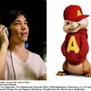 Justin Long as the voice of Alvin in Alvin and the Chipmunks: The Squeakquel. Photo credit: Kevin Estrada