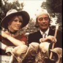 Amanda Lear and Salvador Dali