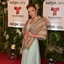 Laura Flores- Telemundo NATPE Party Red Carpet Arrivals