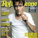 Charlie Sheen - Rolling Stone Magazine Cover [Argentina] Magazine Cover [Argentina] (3 August 2012)