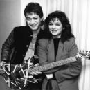 Eddie Van Halen and Valerie Bertinelli