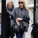 Claudia Schiffer - Out And About In London (2/25/2008)