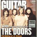 Ray Manzarek, Robby Krieger, John Densmore, Jim Morrison - Guitar World Magazine Cover [United States] (June 2011)