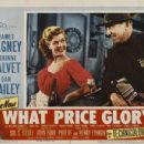 What Price Glory (1952) Poster Postcards - 454 x 350