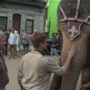 Robert Pattinson BTS in Water for Elephants