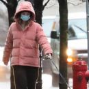 Lili Reinhart – Dresses warmly while out with her dog Milo in Vancouver