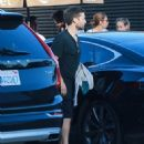 Tobey Maguire & Jennifer Meyer Get Dinner At Nobu With Friends - July 2, 2016 - 454 x 535