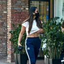 Olivia Munn – Looks sporty wearing Addidas while leaving a nail salon in Studio City - 454 x 662