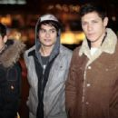Alex Meraz, Bronson Pelletier And Kiowa Gordon Out And About In Vancouver - 454 x 303