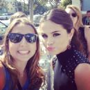 Greeting Fans at the 2013 Young Hollywood Awards Santa Monica Ca August 1, 2013