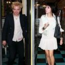 Hanna Beth and Deryck Whibley