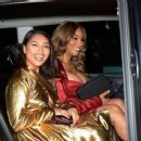 Vanessa White and Munroe Bergdorf – Leaving Pat McGrath Party in London - 454 x 378