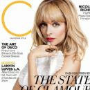 Nicole Richie: cover of C magazine's March issue