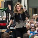 Shania Twain – Performs on NBC Today Show Summer Concert Series in NY - 454 x 506