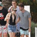 Miley Cyrus and Patrick Schwarzenegger - 454 x 682