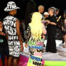 Blac Chyna and Amber Rose Attend the 2015 VMA Awards at the Microsoft Theater in Los Angeles, California - August 30, 2015 - 397 x 600