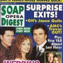 Jacklyn Zeman - Soap Opera Digest Magazine Cover [United States] (23 November 1999)