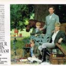 Princess Diana and Prince Charles with sons William and Harry by Lord Snowdon - 1991 - 454 x 314