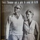 Richard Quine and Kim Novak - Cine Tele Revue Magazine Pictorial [France] (6 May 1960) - 454 x 600