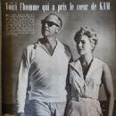 Richard Quine and Kim Novak - Cine Tele Revue Magazine Pictorial [France] (6 May 1960) - 454 x 600