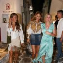Hofit Golan – out with friends in Mykonos - 454 x 626