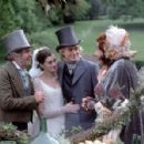 Tom Courtenay, Anne Hathaway, Charlie Hunnam and Barry Humphries in MGM's Nicholas Nickleby - 2002