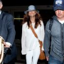 Kate Walsh: arrives at LAX
