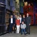 Tom Felton, Rupert Grint, and Evanna Lynch attended a photo call and press conference for the opening of Warner Bros. Studio Tour London – The Making Of Harry Potter at Leavesden Studios, March 29 - 454 x 310