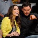 Sophia Bush & Austin Nichols @ The Lakers Game