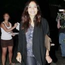 Rosario Dawson - In Hollywood - October 1 '08