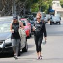 Ashley Tisdale seen out in Beverly Hills. Friday, September 11,2015