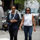 Queen Latifah and Ebony Nicholas