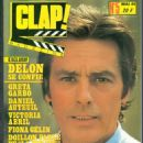 Alain Delon - Clap! Magazine Cover [France] (May 1984)