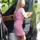 Reese Witherspoon in Pink Dress – Out in Beverly Hills - 454 x 681