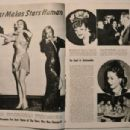 Veronica Lake, Loretta Young, Dorothy Lamour - Screen Guide Magazine Pictorial [United States] (January 1943) - 454 x 304
